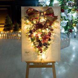 노벌티캔버스트리 70cmP(이젤) 크리스마스 TRHMES