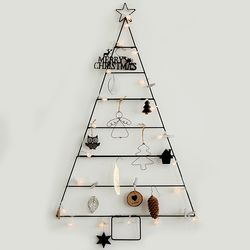 크리스마스트리 벽트리 모던 블랙 풀세트