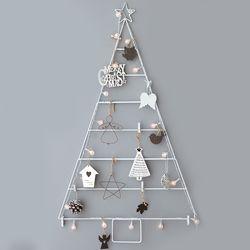 크리스마스트리 벽트리 모던 화이트 풀세트