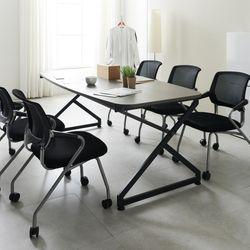 [UFO]하우스틸 지크 2000 6인용 미팅 테이블 회의용 테이블