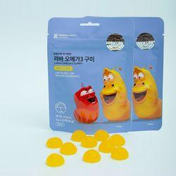 (PMC)라바 오메가3 구미 레몬맛 36g10봉