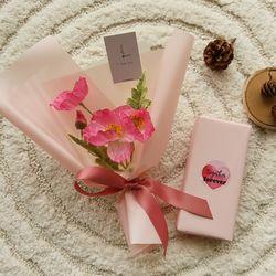 양귀비꽃다발 막대과자선물세트 [2color]