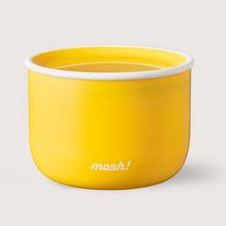 [MOSH]모슈 라떼 런치박스 480  옐로우