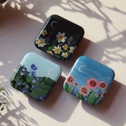 그려낸 새벽꽃 그립톡 스마트톡