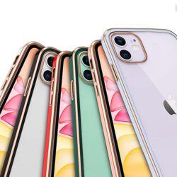 아이폰 11 pro max 프로 투명/하드 컬러 범퍼 케이스