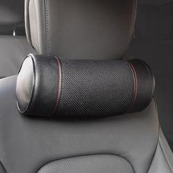 (PMC)시크릿 블랙매쉬 차량용목쿠션 자동차 목베개 목배게