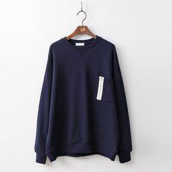 Gimo Patch Cotton Sweatshirt - 안감기모