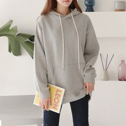Gimo Perfect Hood Cotton Sweatshirt - 안감기모