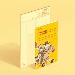 [디즈니] 텐미닛 플래너 31DAYS + 노트페이퍼 - 우디