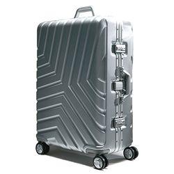 골드파일 GPA 011 실버 28인치 수화물용 캐리어 여행가방