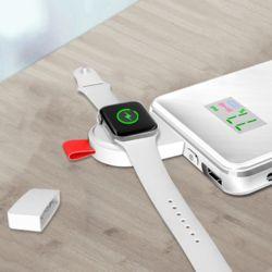[11/2 전파인증 필수] 애플워치충전기 usb 휴대용 무선 고속 충전독 스트랩