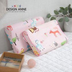 순면 애니멀즈 아동메모리폼베개-핑크