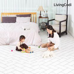 리빙코디 셀프시공 디자인 PVC 롤매트14T 100x140 5종 모음
