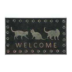 현관매트고양이(고무)