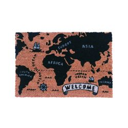 현관매트세계지도(코이어)