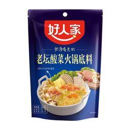 호인가 노탄쏸차이 훠궈소스 1개 샤브샤브 중국식품