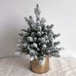 골드럭스 스노우 크리스마스 트리