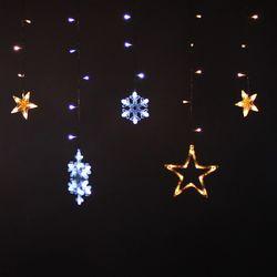 LED 24V 눈+별(장식)