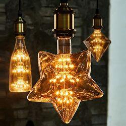 LED 눈꽃 에디슨램프