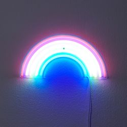 LED 네온사인 파티 무드등 무지개