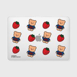 Strawberry bear(맥북-투명)
