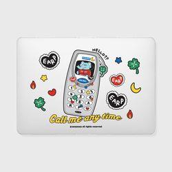 kkikki retro cell phone(맥북-투명)