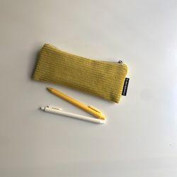 라임 골덴 필통(Lime pencil case)