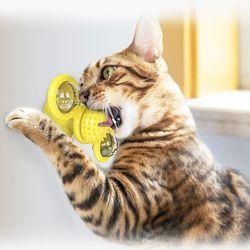 움직이는 풍차토이볼 고양이장난감
