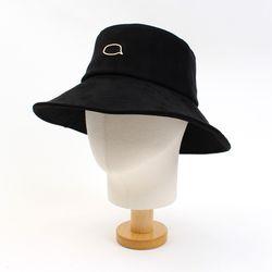 Black Suade Over Bucket Hat GD 오버버킷햇