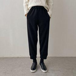 Gimo Wool Jogger Pants - 기모안감