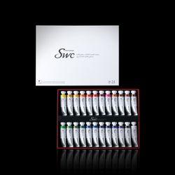 신한 SWC 최 고급 수채화물감 15ml 24색