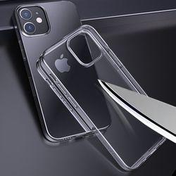 아이폰 12 투명 강화유리케이스 CS