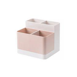 스토리지 박스 화장품 잡화 (핑크) 1개