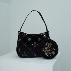Twinkle hobo bag (black)