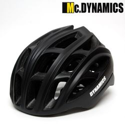 Mc.DYNAMICS 인몰드 아시안핏 스톰 자전거헬멧블랙