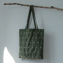 Daisy eco bag (khaki)