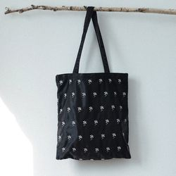 Daisy eco bag (black)