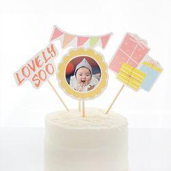 제이밀크 맞춤 DIY 토퍼 - 생일파티