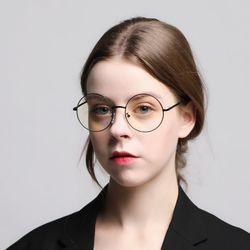 로코모티브 소피아 블랙 블루라이트차단 청광 렌즈 안경테