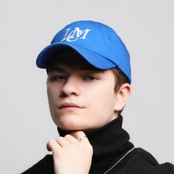 로코모티브 시그니처 빅로고 볼캡 블루 LCM ballcap