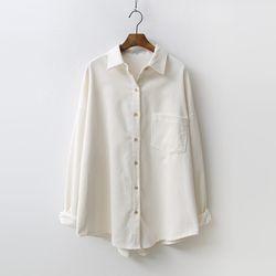 N Corduroy Pocket Shirts