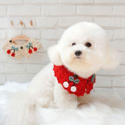 강아지케이프 애견니트스카프 고양이케이프 핸드메이드 케이프