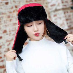 겨울 추위와 한판 귀달이 털 방한모자 10color