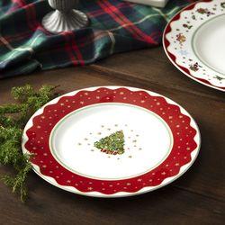 크리스마스 마이노엘 8인치 접시