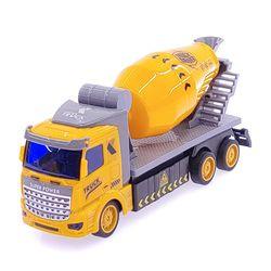 1:48 DIY 시티트럭 3in1 레미콘트럭 무선조종RC 옐로우
