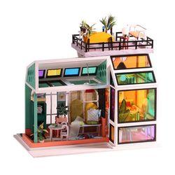 [adico]DIY 미니어처 하우스 - 레인보우 하우스