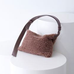 TWO WAY SHOULDER MUSTANG BAG BROWN