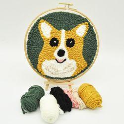 강아지 펀치니들 DIY 키트