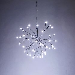 LED 로맨틱 행잉 조명 실버 25CM