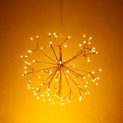 LED 로맨틱 행잉 조명 골드 40CM